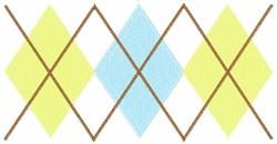 Argyle   embroidery design