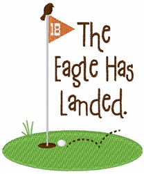 Eagle Has Landed embroidery design