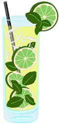 Mojito embroidery design