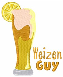 Weizen Guy embroidery design