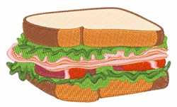Sandwich embroidery design