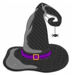 Halloween Witch Hat embroidery design