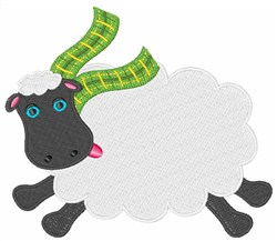 Irish Sheep embroidery design