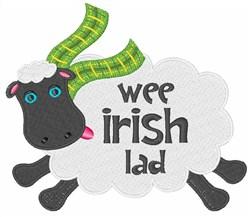 Wee Irish Lad embroidery design