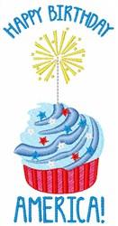 Happy Birthday America embroidery design