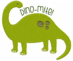 Dino-Mite! embroidery design