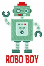 Robo Boy embroidery design