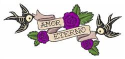 Amor Eterno embroidery design