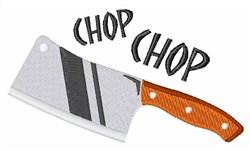Chop Chop embroidery design