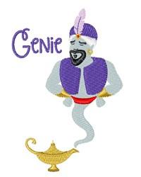 Genie embroidery design