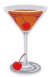 Manhattan Cocktail embroidery design