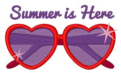 Summer Is Here embroidery design