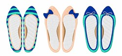 Womens Flats embroidery design