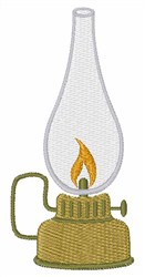 Camping Lantern embroidery design
