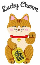 Lucky Charm embroidery design