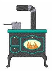 Cooking Stove embroidery design