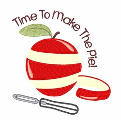 Make Pie embroidery design