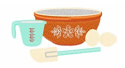 Baking Utensils embroidery design