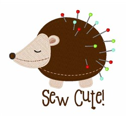Sew Cute embroidery design