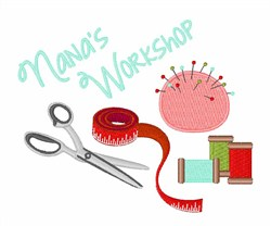 Nanas Workshop embroidery design