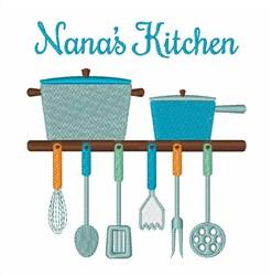 Nanaa Kitchen embroidery design