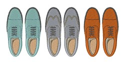 Mens Shoes embroidery design