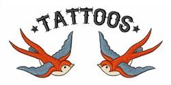 Bird Tattoos embroidery design