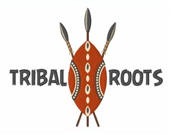 Tribal Roots embroidery design