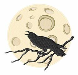 Halloween Crow embroidery design