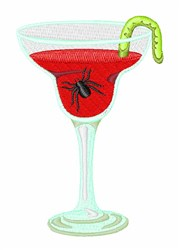 Halloween Cocktail   embroidery design