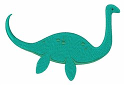 Loch Ness Monster embroidery design