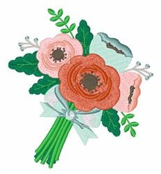 Bridal Boquet embroidery design