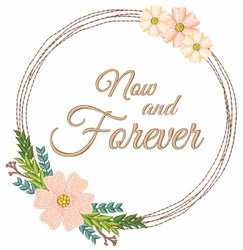 Now And Forever embroidery design