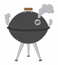 Smoking Grill   embroidery design