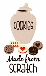 Cookies From Scratch embroidery design