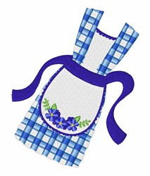 Kitchen Apron embroidery design