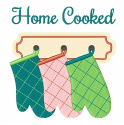 Home Cooked embroidery design