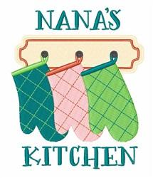 Nanas Kitchen embroidery design