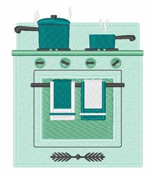 Electric Cooker embroidery design
