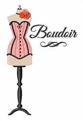 Boudoir embroidery design