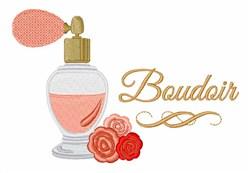 Boudoir Perfume embroidery design