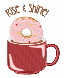 Rise & Shine embroidery design