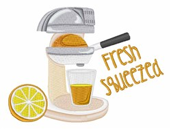 Fresh Squeezed embroidery design