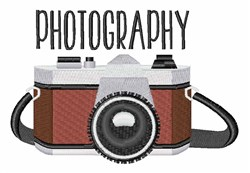 Photography embroidery design