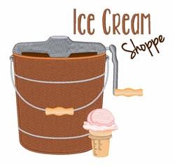 Ice Cream Shoppe embroidery design