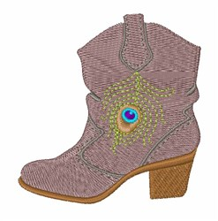 Short Boot embroidery design