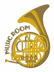 Music Room embroidery design