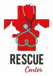 Rescue Center embroidery design