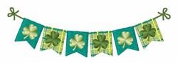 Irish Banner embroidery design