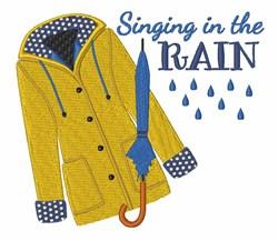Singing In Rain embroidery design